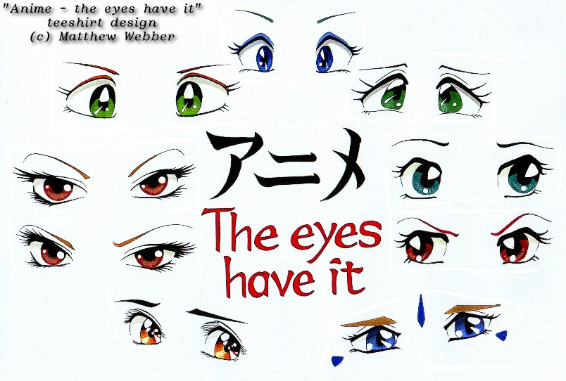 Images Of Anime Eyes